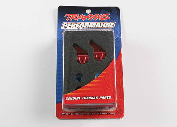 Traxxas Aluminium Steering Block - Red