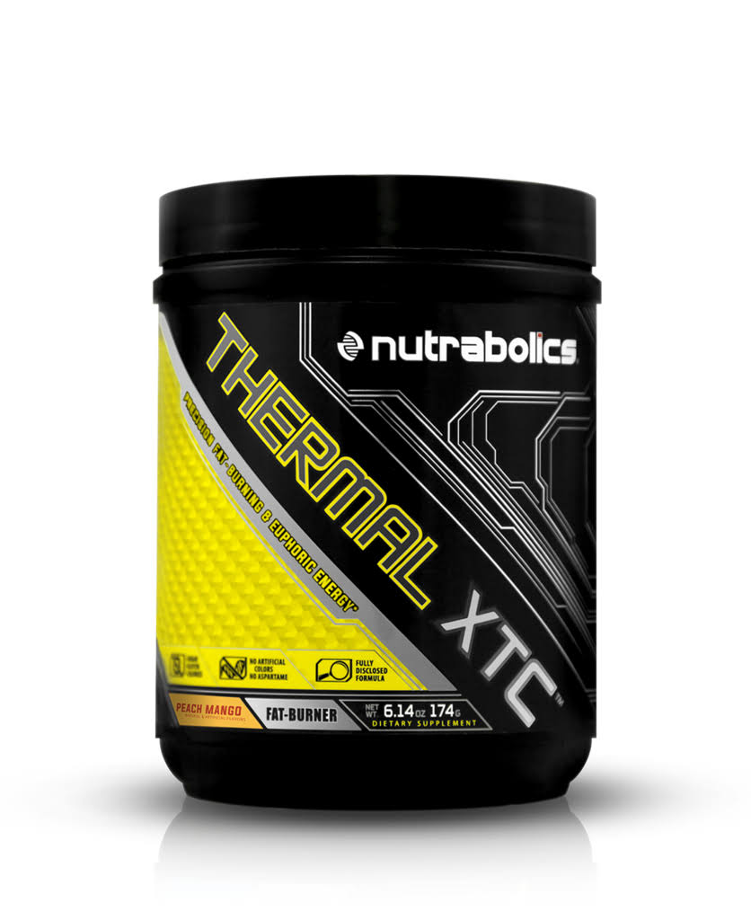 Nutrabolics Thermal XTC Powder Supplement - Fruit Punch, 16.14oz
