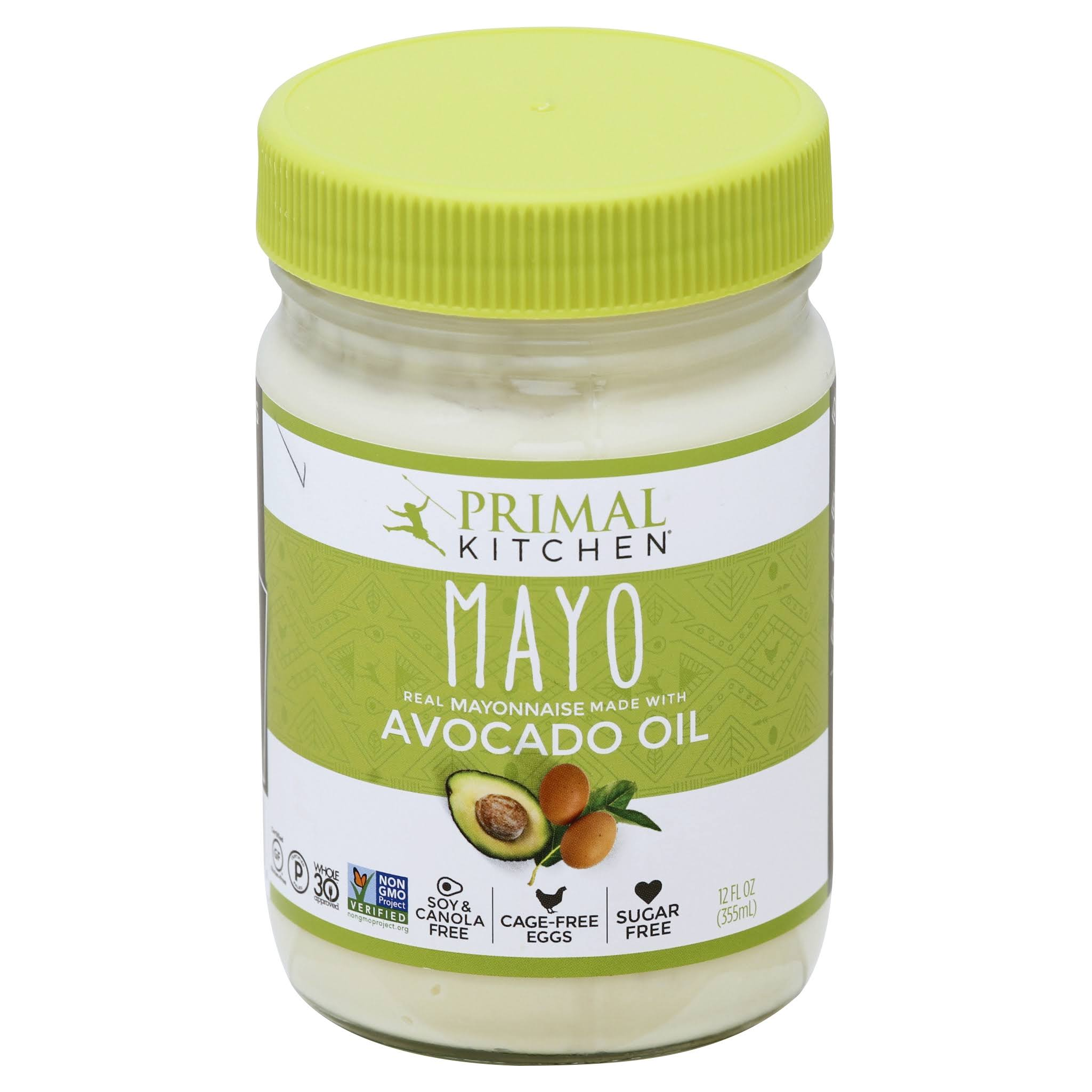 Primal Kitchen Mayo Made With Avocado Oil - 12oz