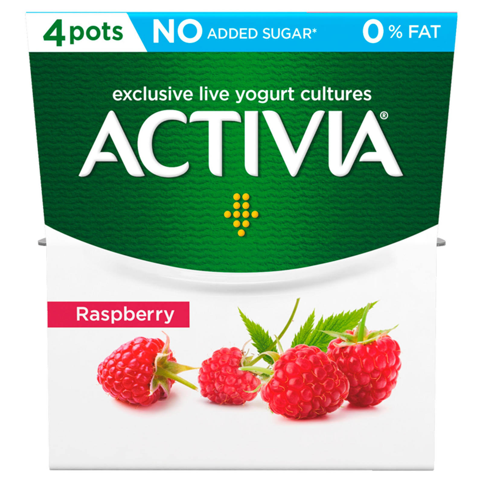 Activia Fat Free Yogurt - Raspberry, 120g