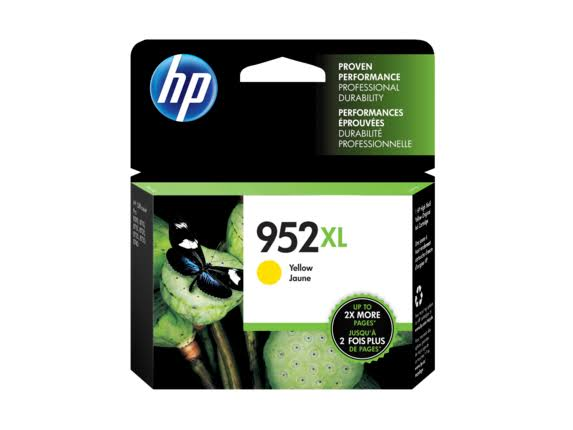 HP 952XL High Yield Original Ink Cartridge - Yellow