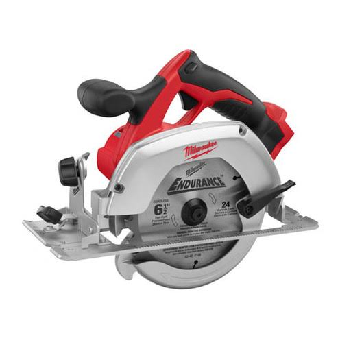 Milwaukee M18 Circular Saw - 18V, Lithium-Ion, Cordless, 6 1/2""