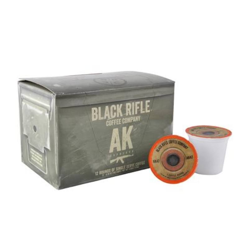 Black Rifle Coffee Company AK-47 Coffee Rounds - for Single Serve Brewing Machines