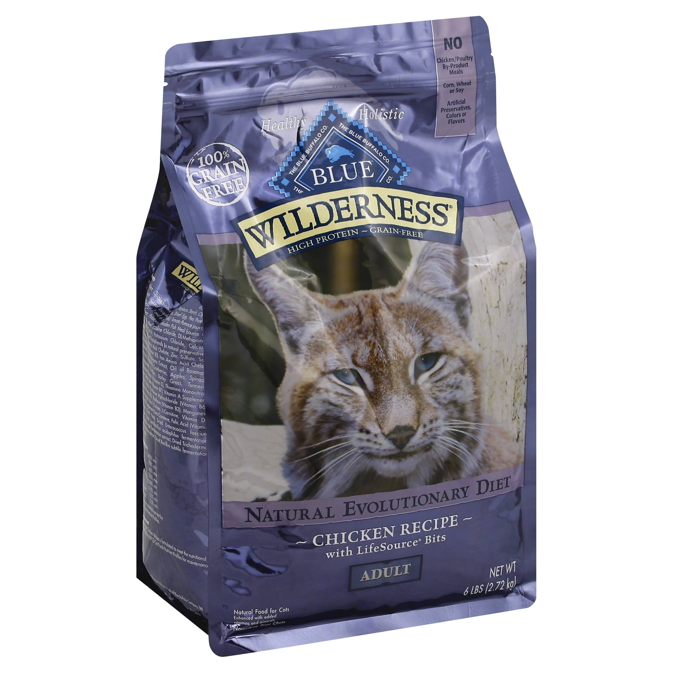 Blue Buffalo Wilderness High Protein Dry Adult Cat Food - Chicken