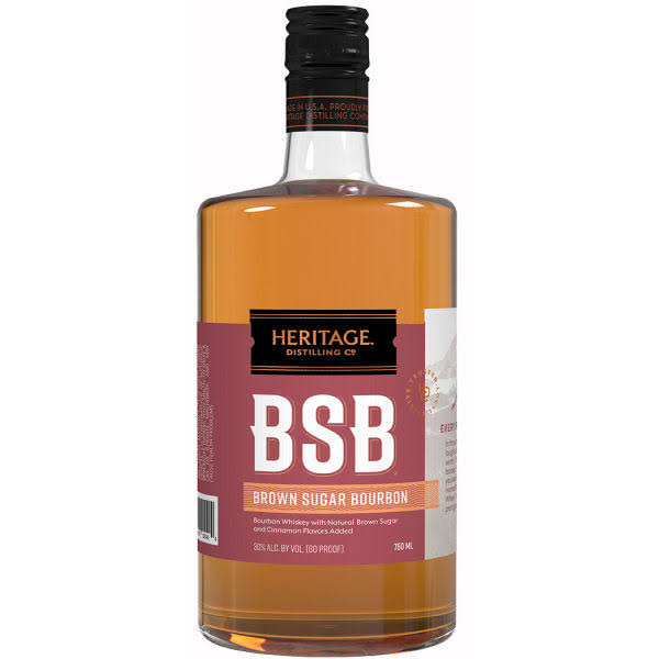 Heritage Distilling Bourbon Brown Sugar BSB (750ml)