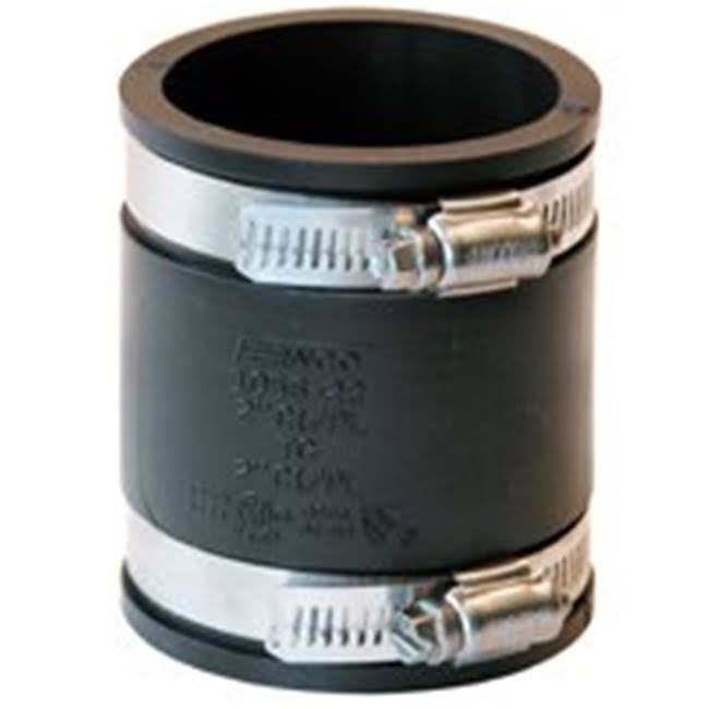 Fernco 2x2 Flexible Coupling