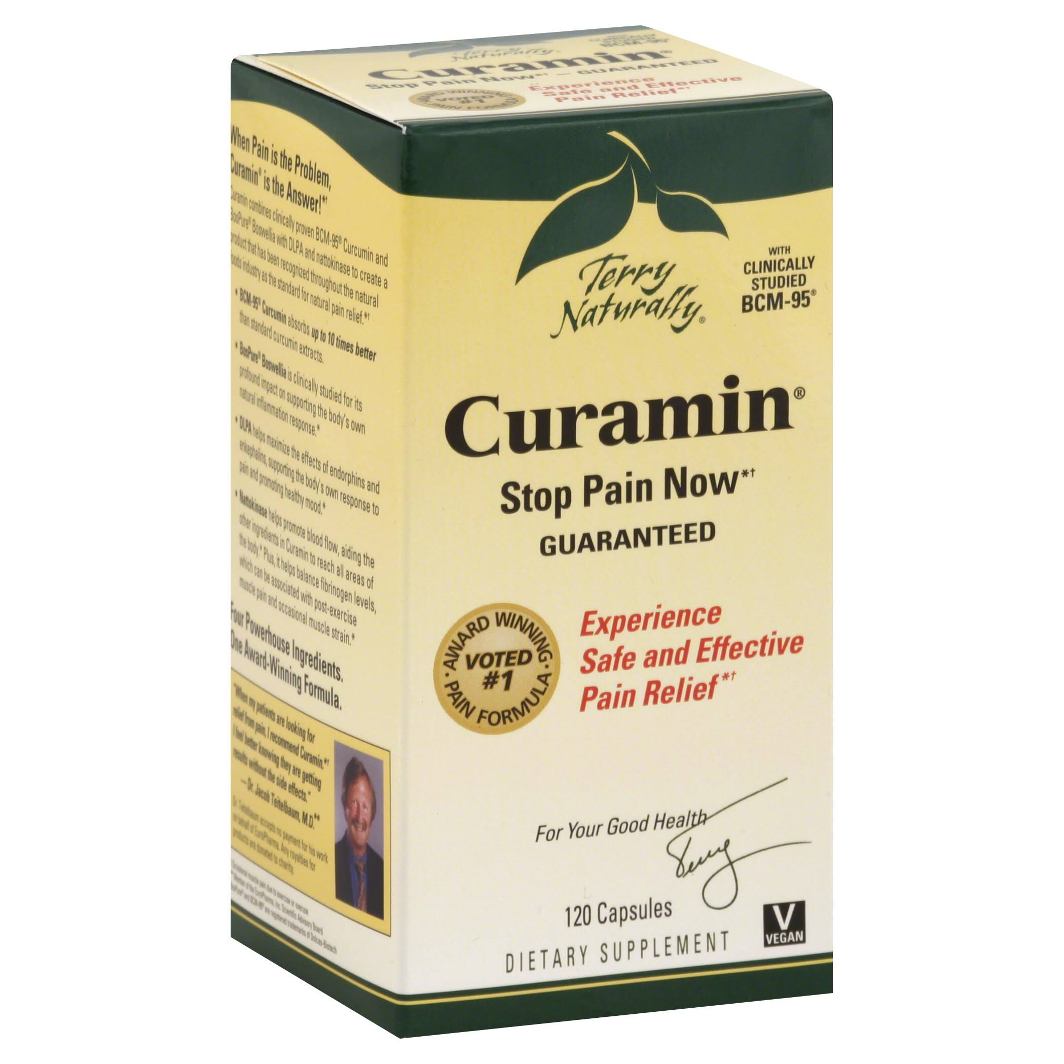 Terry Naturally Curamin Pain Relief - 120 Capsules