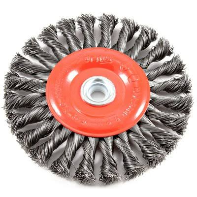 Forney Industries Brush Wire Wheel Knot - 6""