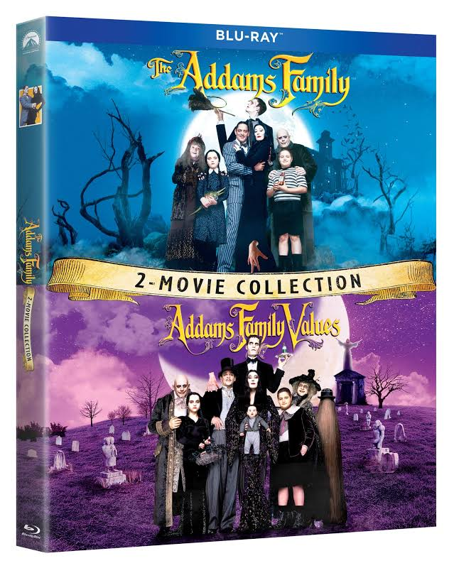 The Addams Family / Addams Family Values: 2 Movie Co - BLU-RAY