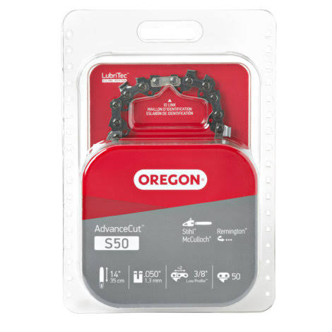 Oregon S50 HD Semi Chisel Cutting Chain - 14in
