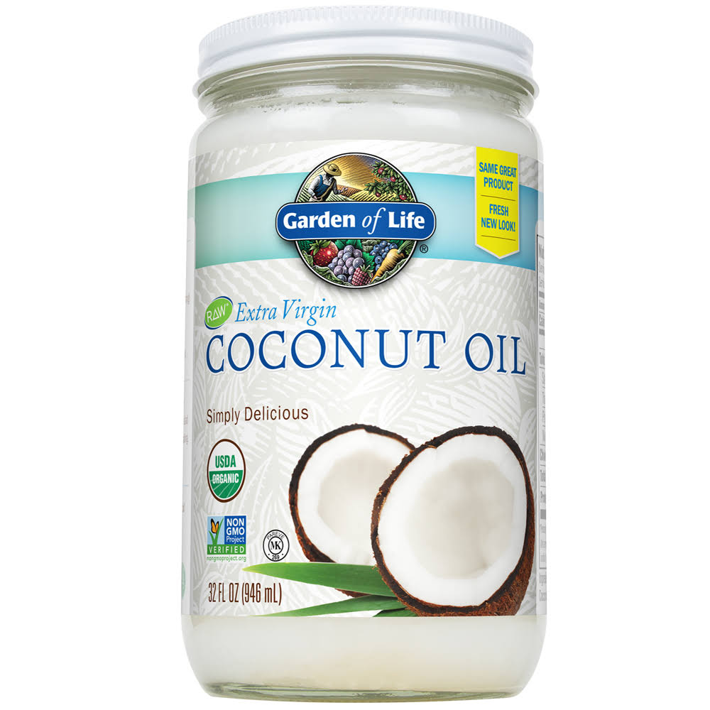 Garden Of Life Extra Virgin Coconut Oil - 32 Oz