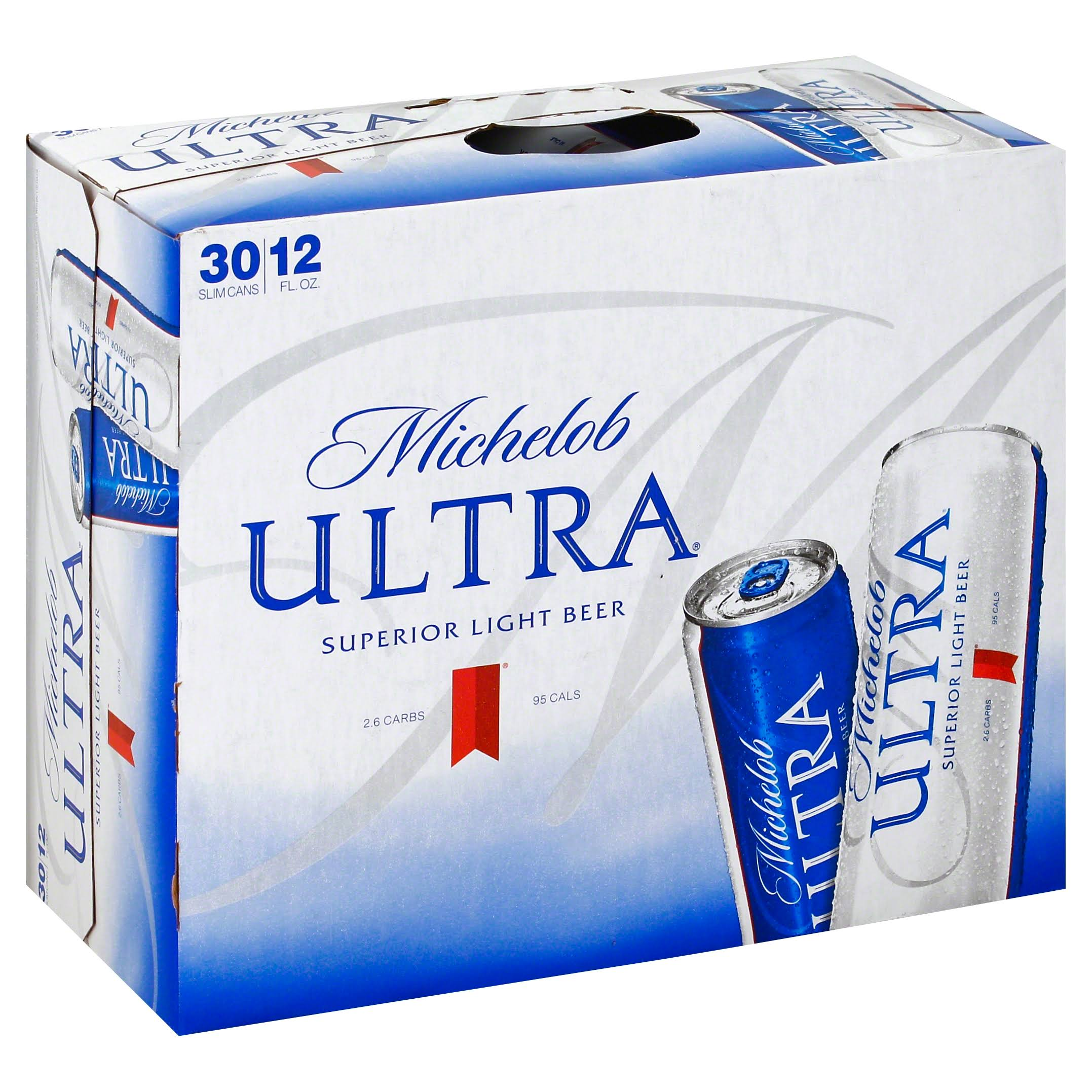 Michelob Ultra Beer - 30pk, 12oz