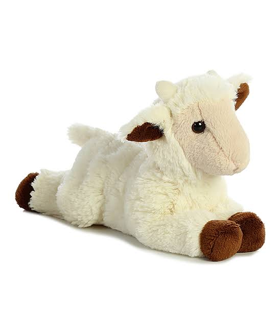 Aurora World Mini Flopsie Plush Toy - Goat Kid, 8""