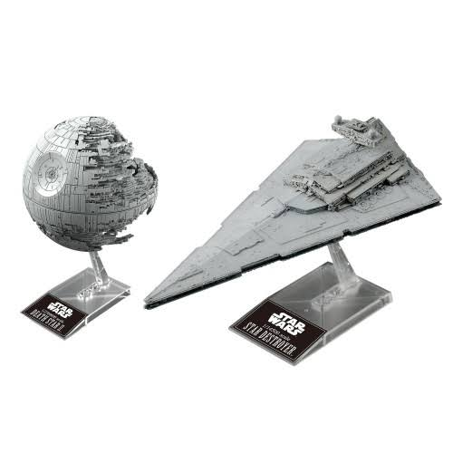 Bandai Star Wars Death Star II & Star Destroyer Model Kit - 230358