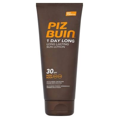 Piz Buin 1 Day Long Lasting Sun Lotion - 30 SPF High, 100ml