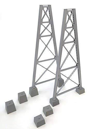 Walthers - Steel Railroad Bridge Tower Bent 2-Pack - Kit - 933-4555