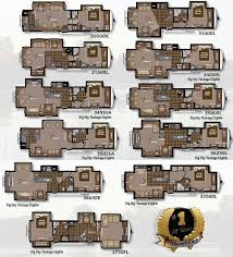 5th Wheel Toy Hauler Floor Plans by Roaming Times Rv News And Overviews