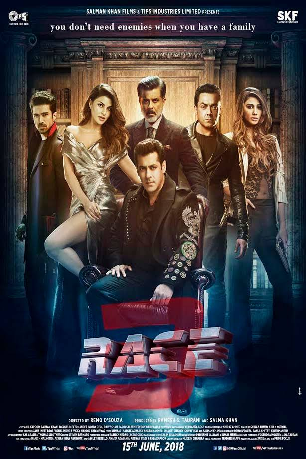 Race 3 2018 Full Movie Download WEB HDRip 720p 2.6 GB High Speed Google Drive Link