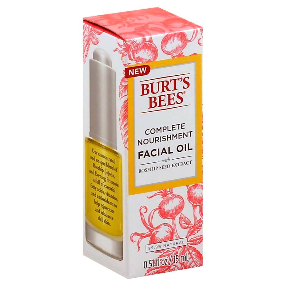 Burt's Bees Complete Nourishment Facial Oil - 15ml