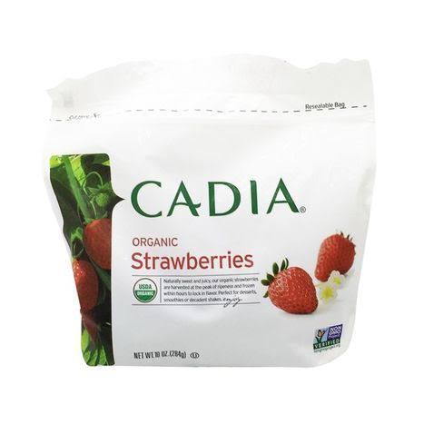 Cadia Organic Strawberries