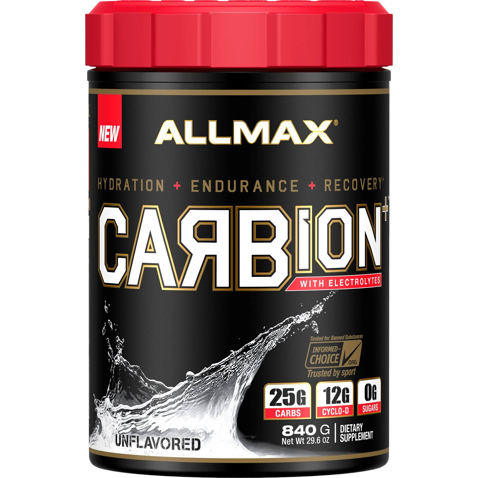 Allmax Nutrition | Carbion 2 lbs - Unflavored