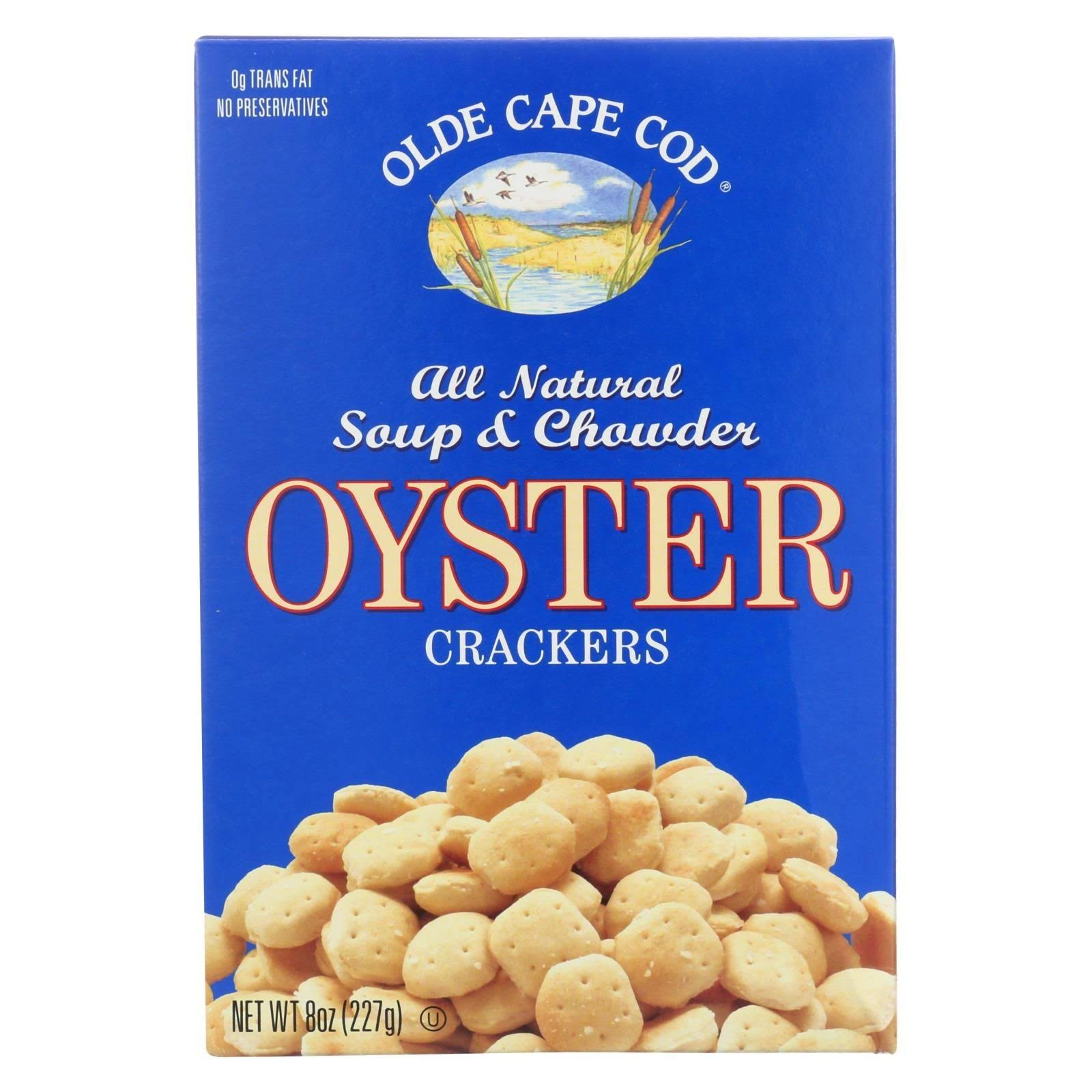 Olde Cape Cod Oyster Crackers - 8oz