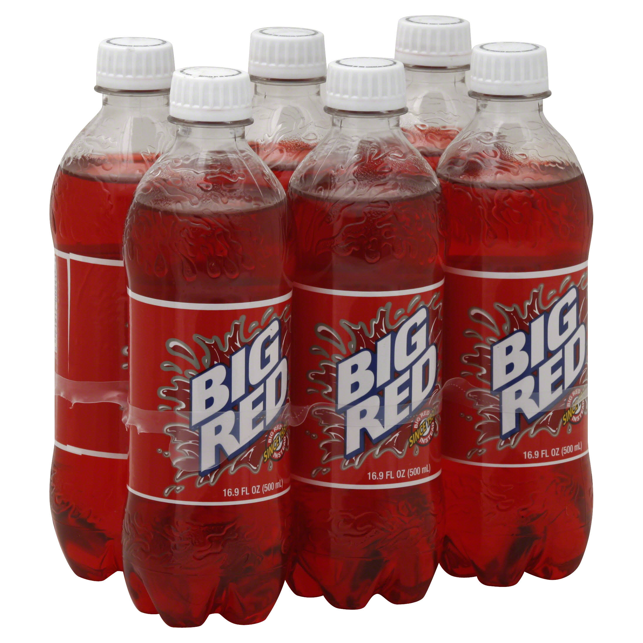Big Red Red Soda - 16.9 oz