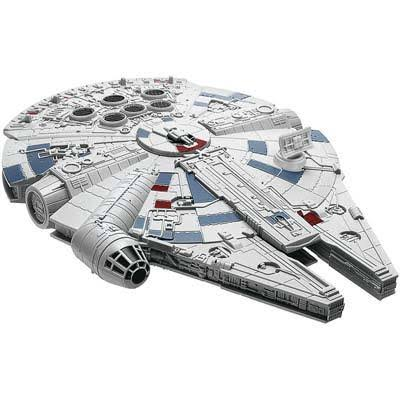 Revell SnapTite Build and Play - Star Wars Millennium Falcon - gray, blue, red