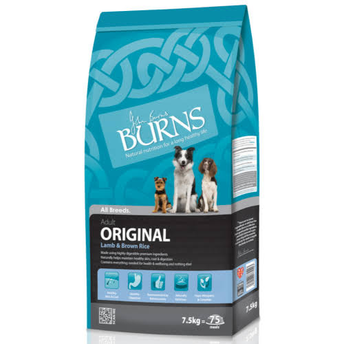 Burns Adult  Dry Dog Food - Lamb And Brown Rice, 7.5kg