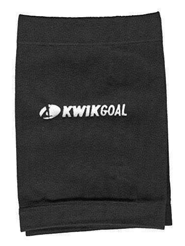 Kwik Goal Adult Shin Guard Compression Sleeves - Black