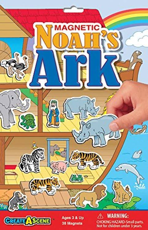 Smethport Create-A-Scene Magnetic Playset - Noah's Ark