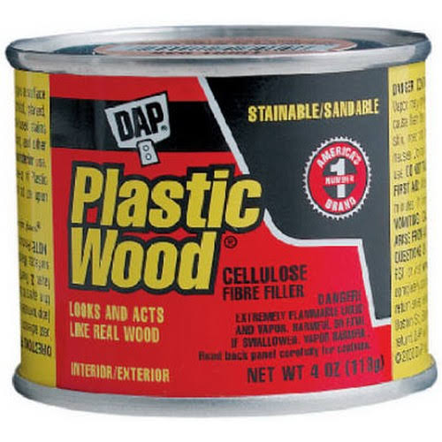 Dap Walnut Wood Dough Filler - 1/4lbs