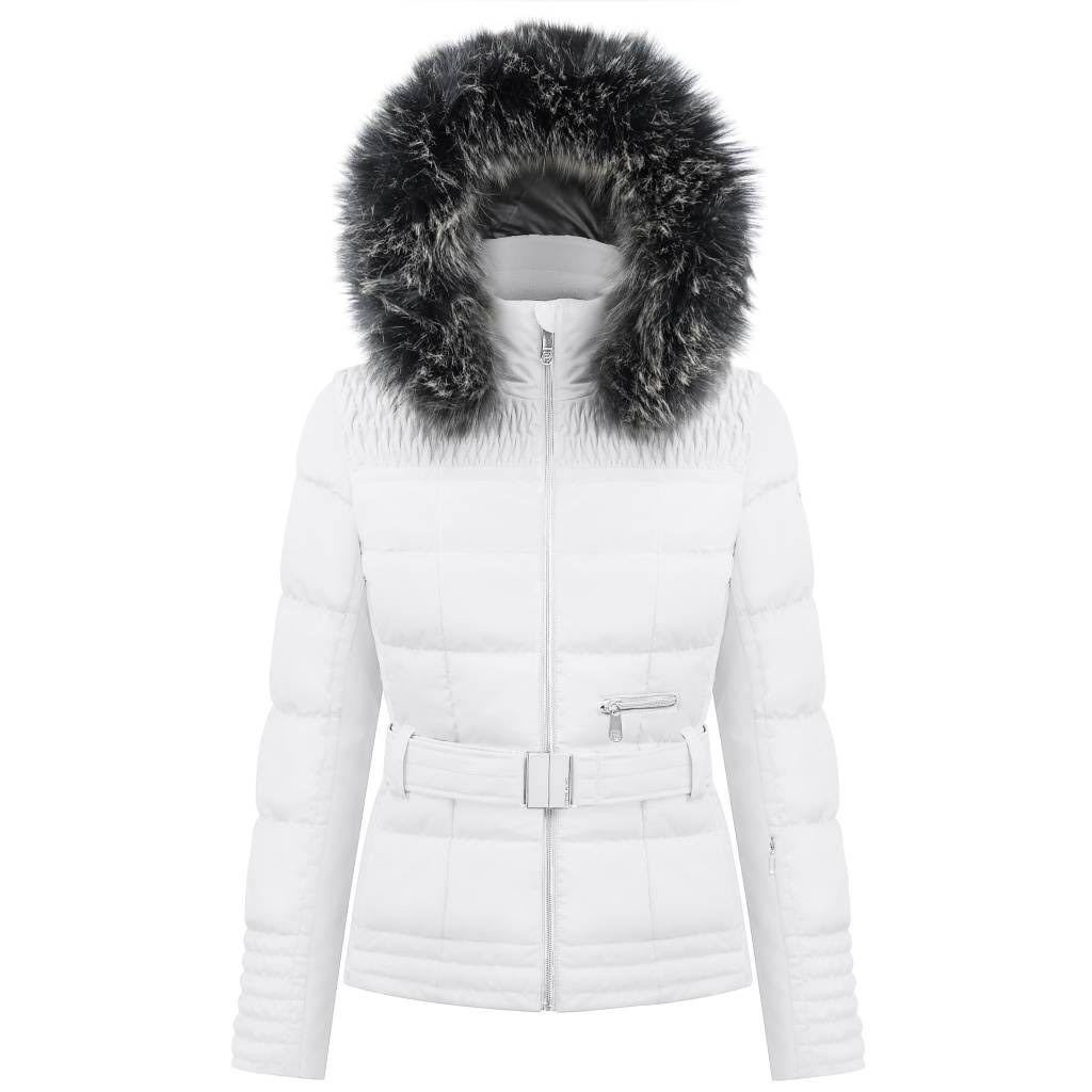 Poivre Blanc Ski Jacket - Womens - White