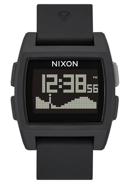 Nixon Base Tide Surf Watch - Black