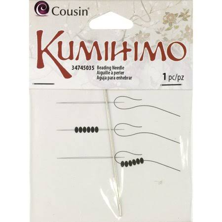 Cousin Large Eye Beading Needle, 1pk