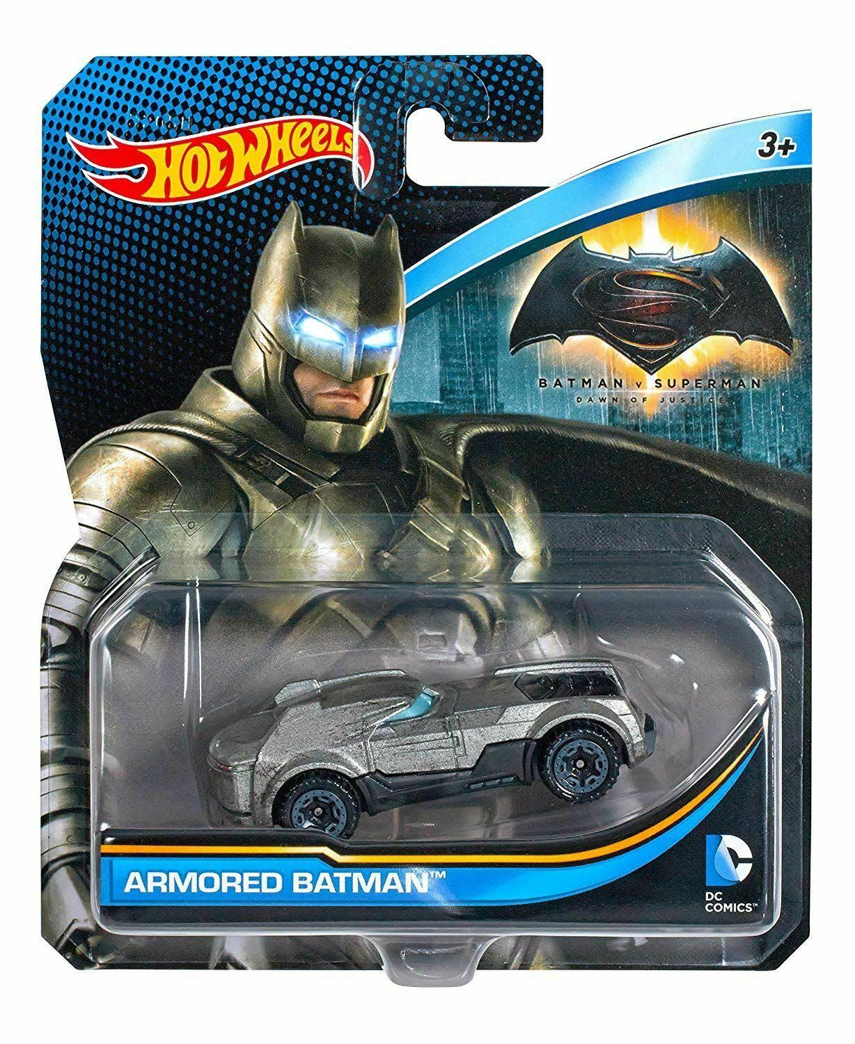 Hot Wheels DC Universe Armored Batman Toy Vehicle