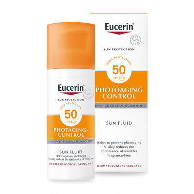 Eucerin Sun Protection Anti-Age Sun Fluid - Face, SPF50, 50ml