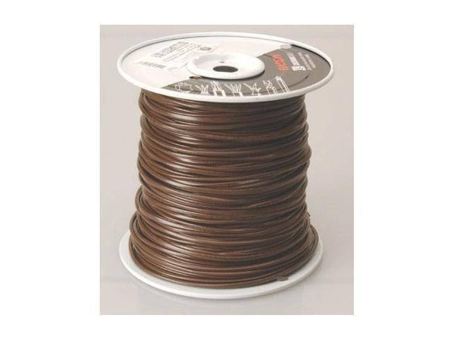 Coleman Cable Thermostat Wire, 18/4 Brown Vinyl, 250'