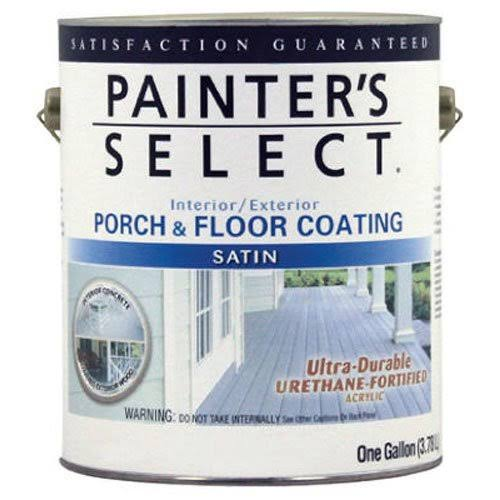True Value MFG Usf1-gl White Porch and Floor Coating - 1gal, Satin