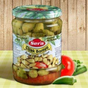 Sera Pickled Baby Okra - 580g
