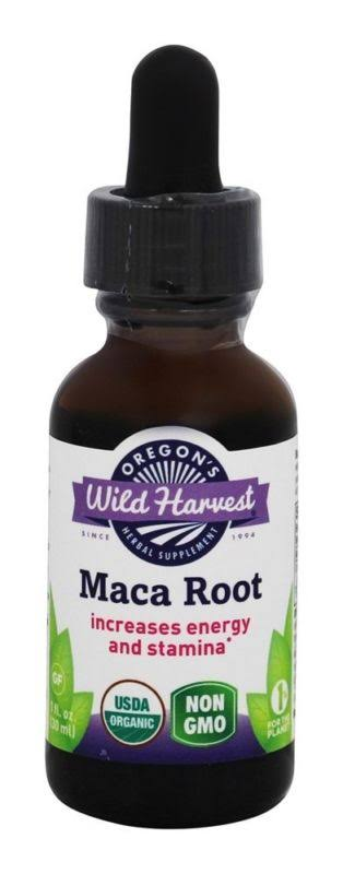 Oregon's Wild Harvest Organic Maca Root Extract - 1oz