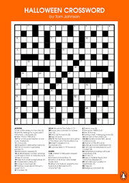 Haunted Halloween Crossword by Best 20 Printable Crossword Puzzles Ideas On Pinterest Kids 65