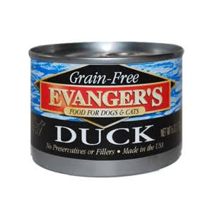 Evangers Grain Free Duck for Cats and Dogs