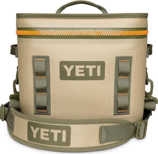 Yeti Hopper Flip 12 Portable Cooler - with Top Handle, Field Tan