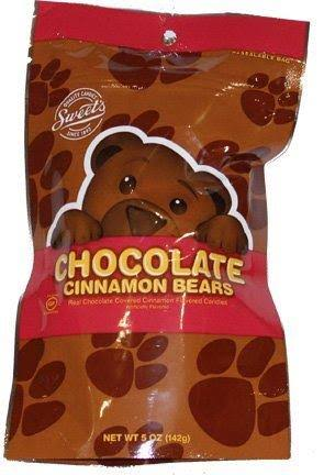 Sweets Chocolate Cinnamon Bears 5 oz