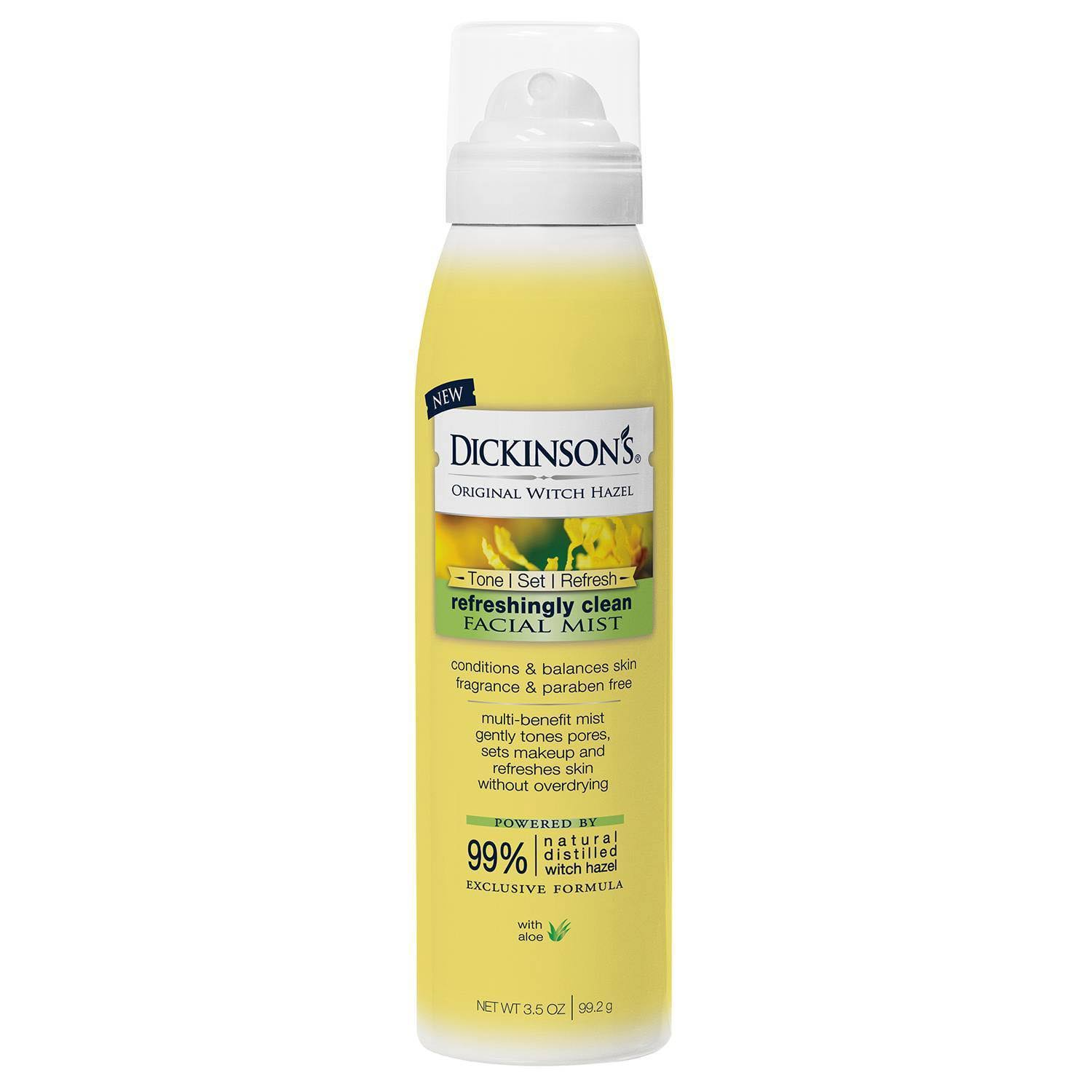 Dickinson's Original Witch Hazel Refreshingly Clean Facial Mist - 3.5oz
