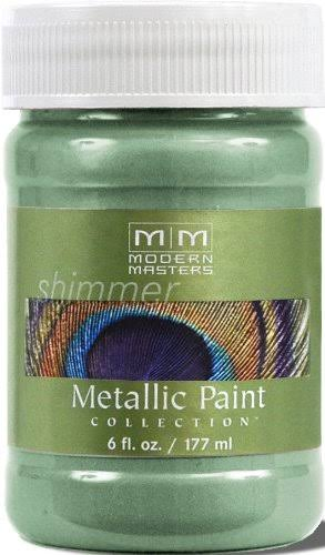 Modern Masters Metallic Paint - Teal, 177ml