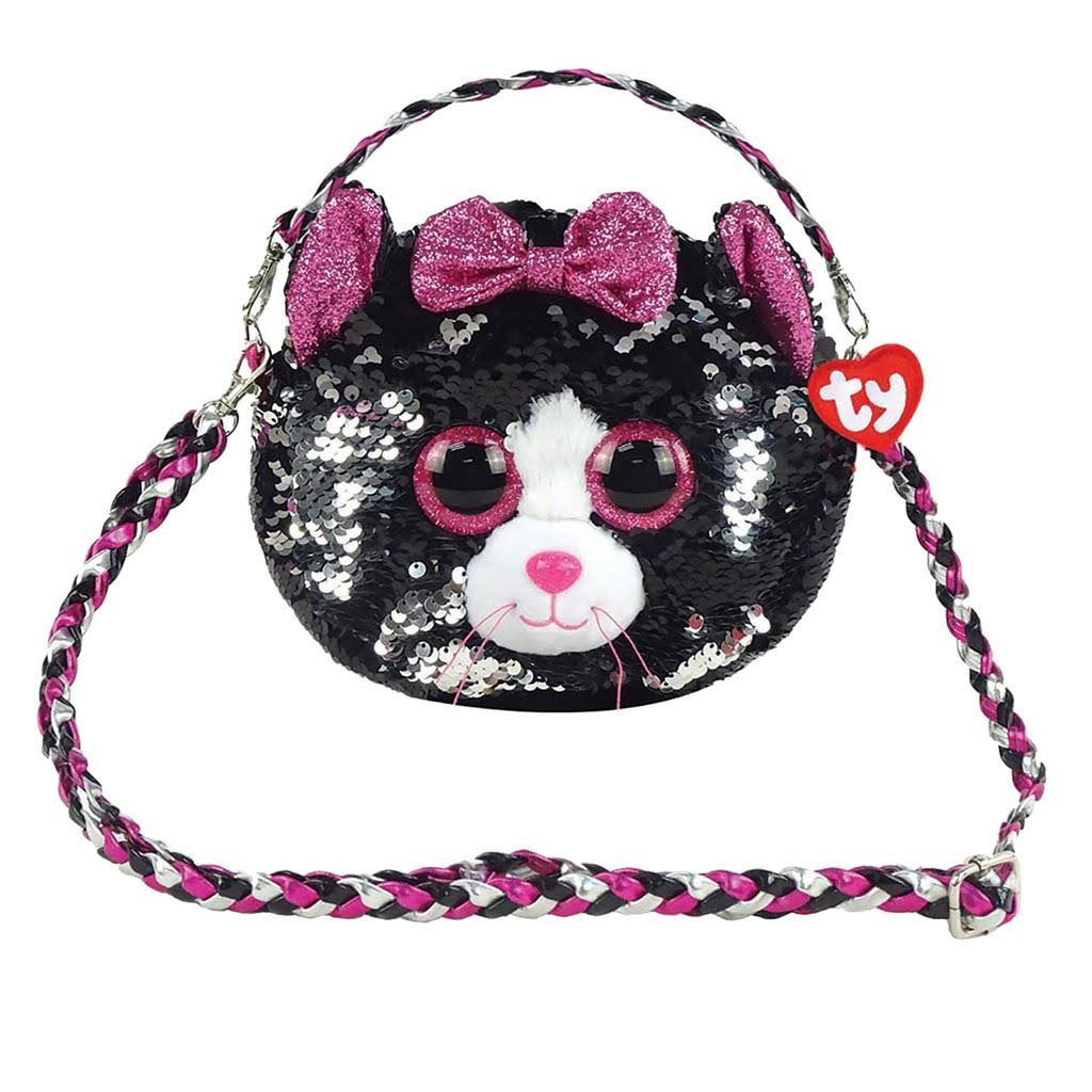 Ty Fashion Kiki Cat Sequin Purse