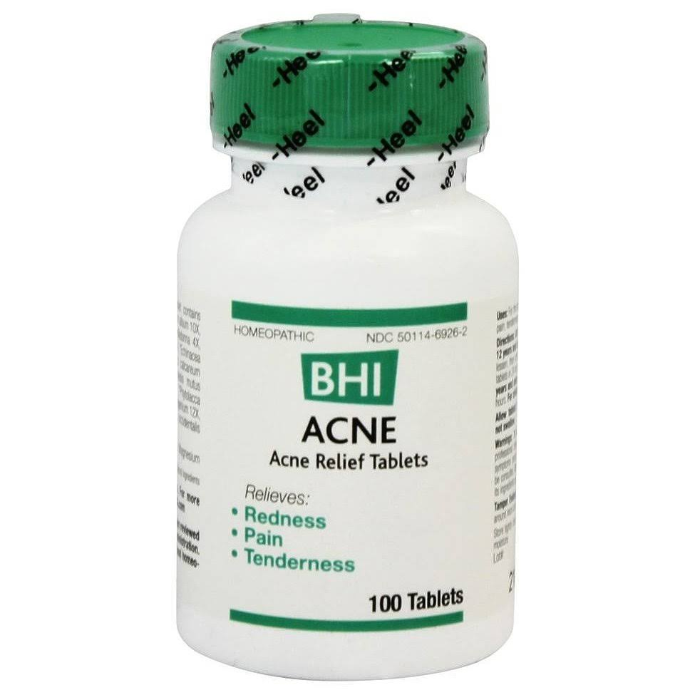 BHI Acne Relief Tablets - 100ct