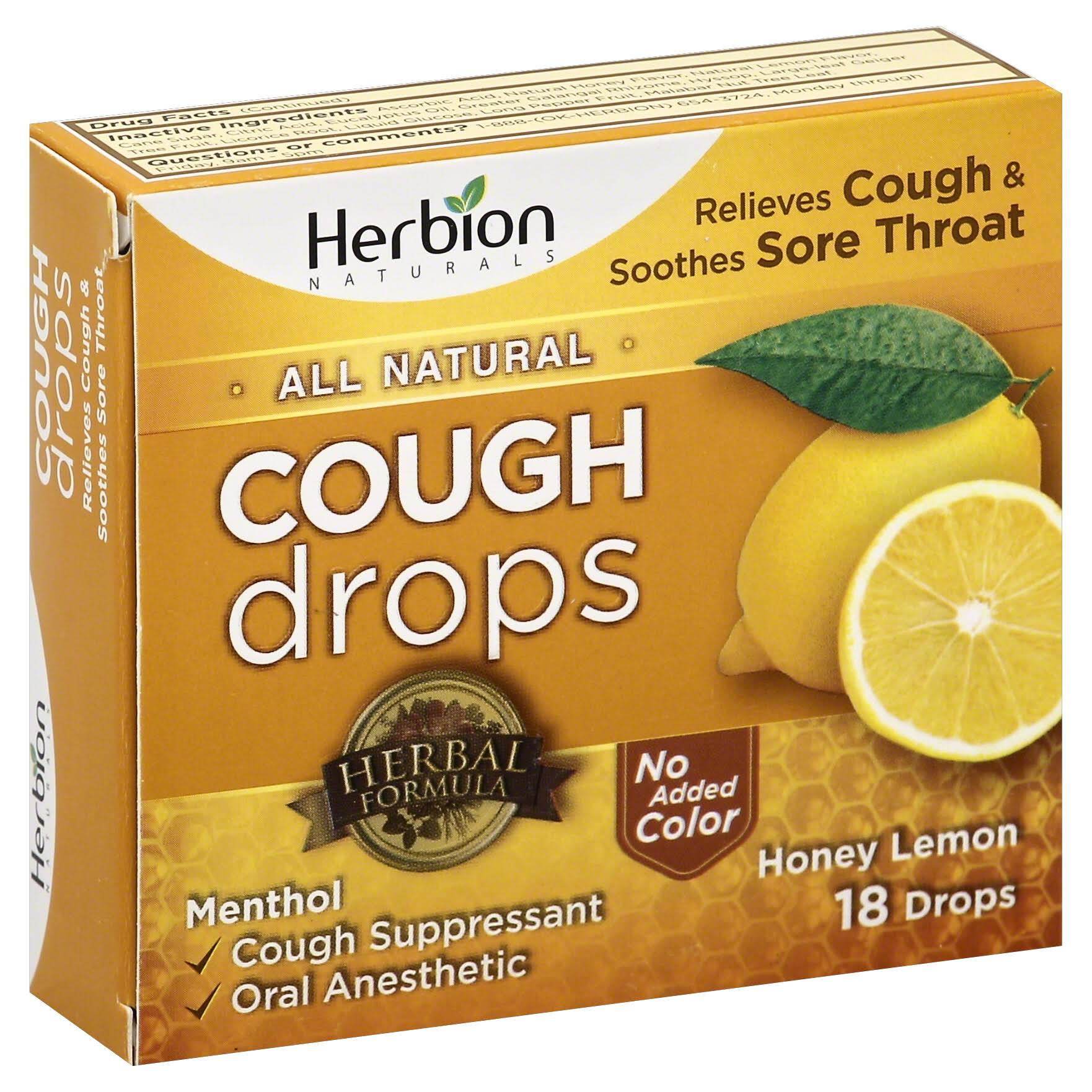 Herbion All Natural Cough Drops